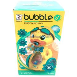 Игрушка для запуска мыльных пузырей Утка ZR162