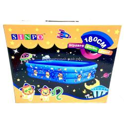 Надувной бассейн (180 см) 1215-4-ZX1215-230