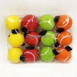 Мячики Теннис в упаковке 12 шт