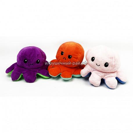 Мягкая игрушка вывернушка Большой осьминог (ассортимент)