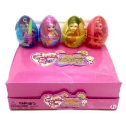 Яйца с куколкой в боксе 12 шт 138-1-HF138