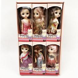 Куклы Принцессы бокс из 6 шт 1060A
