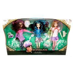 Куклы Наследники набор из 3 шт 662-3