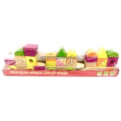 Логическая игрушка кубики 2407-21